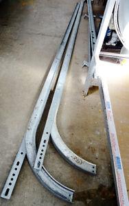 Montants (Rails)  pour porte de garage électique de 8 à 10 pi.