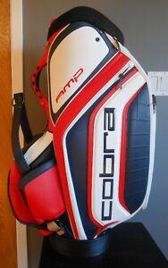 Cobra Amp Staff Golf Bag **NEUF et AUTOGRAPHIÉ !**
