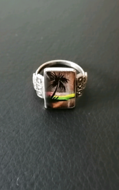 VINTAGE BUTTERFLY WING RING