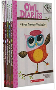 Wanted - Owl Diaries books