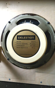 "Speaker 12"" Celestion Creamback 16Ohms made in England"