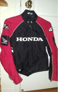 Original Honda Motorcycle Lether Jacket Brand New Joe Rocket