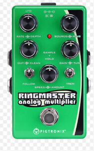 Pigtronix Ringmaster Ringmod Modulator Guitar Pedal Synth Bass