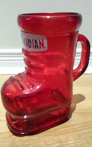 MOLSON CANADIAN Hockey Skate STIEN!! 32oz (LARGE) --- PERFECT!!