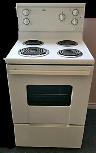 """Apartment size electric stove, Roper , 24""""wide , for sale"""