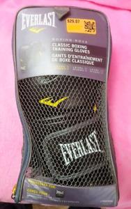 Everlast boxing training gloves 12Oz Sz M-L