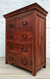 Solid Wood Chest Of Drawers (DELIVERY AVAILABLE)
