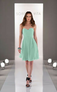 Sorella Vita Mint Bridesmaid Dress