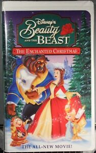 Beauty and the Beast - The Enchanted Christmas - VHS