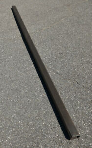 Metal Downspouts  - 4 lengths of 10' each,  2 x 3 inch