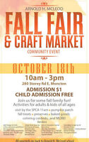 AHM Fall Fair and Craft Market
