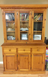 Amish cabinet solid wood