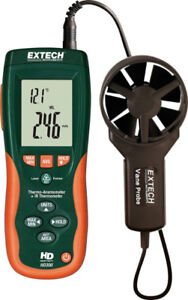 Extech HD300 CFM/CMM Thermo-Anemometer with Built-in Infrared T