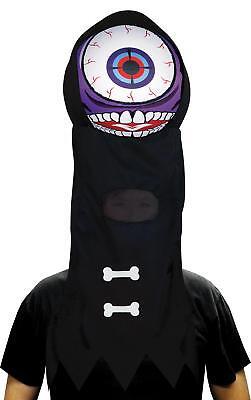 ALIEN ONE EYED PURPLE PEOPLE EATER GIANT EYEBALL HEADPIECE MASK COSTUME OC41543 - Giant Alien Costume