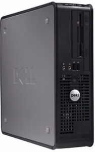 Boitier d' Ordinateur Dell Optiplex 755 Core2 Duo Windows 7  Ord