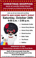 CRAFTS AND HOME PARTY EVENT