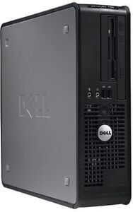 Boitier d Ordinateur Dell Optiplex 755 Core2 Duo Windows 7