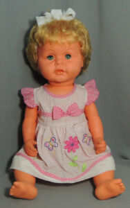 VINTAGE-GERMANY-DDR-SONNI TODDLER DOLL 23""