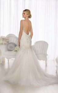 Beautiful never worn wedding dress for sale Campbell River Comox Valley Area image 2