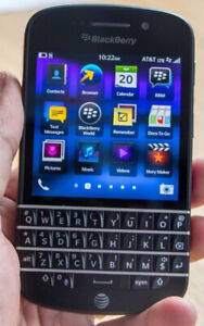 BLACKBERRY Q10 16GB, BELL, VIRGIN, LUCKY MOBILE, OS 10 (ANDROID)