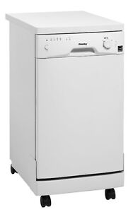 """dishwasher portable -danby-18"""" white-with warranty-$299.99"""