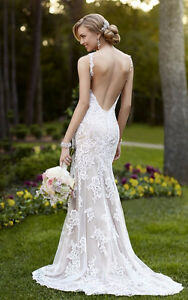Stella York Wedding Gown - Lace, low back