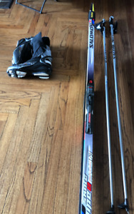 Skate Skis, Boots & Poles (Ski size: 179)