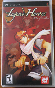 Legend of Heroes a Tear of Vermillion for PSP