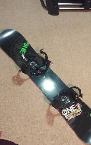 Morrow snowboard used for 2 seasons price obo