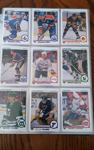 Série complete upper deck 1990-91  first edition hockey (550)