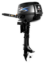 New 4 HP Outboard