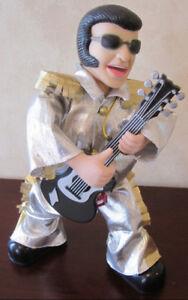 Singing Elvis Presley Figure