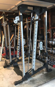 squat rack smith machine home gym