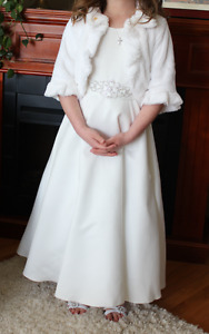 1st Communion / Flower Girl Dress & Bolero