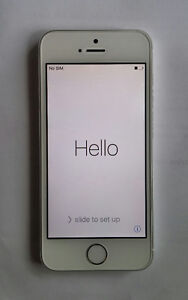 MTS iPhone 5S 8GB silver MINT