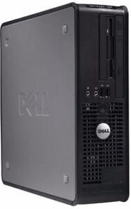 Boitier d' Ordinateur Dell Optiplex 755 Core2 Duo Windows 7  Ord