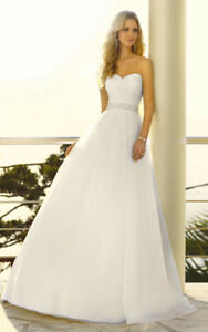 Never worn Stella York 5504 wedding dress