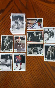 Set (100 cartes) ultimate hockey cartes