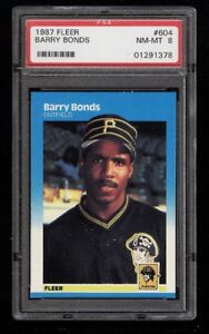 BARRY BONDS .... GRADED ROOKIE CARDS .... three different