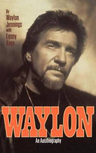 waylon jennings brand new condition autobiogrophy no issues