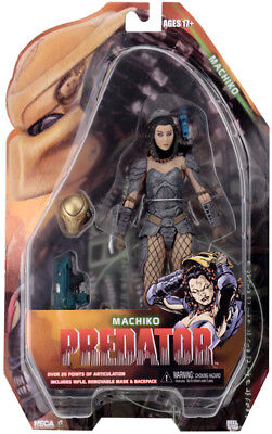 """Predator - 7"""" Scale Action Figures - Series 18 Assortment - Machiko - NECA for sale  Shipping to India"""