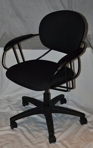 Steelcase Uno Black Fabric Office Chair