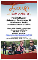 Lace Up w/ Team Diabetes Fort McMurray - Sept 10