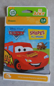 LeapFrog Tag Junior Book:  Disney Pixar CARS 2 - New
