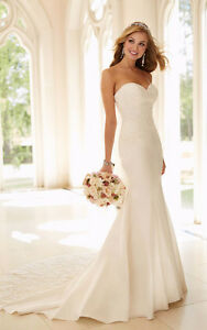 Stella York Wedding Dress in Ivory - includes Veil and shoes