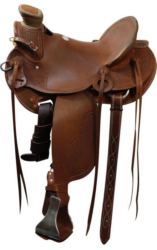 """Showman™ Roping Saddle.15"""", 16"""", 17"""""""