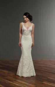 Martina Liana - Style 888 - Ivory. Mermaid. Lace. Wedding Dress