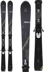 New Fischer Aspire Women's downhill skis w bindings alpine $270