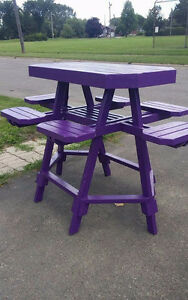 6 seater bar stool picnic table for sale