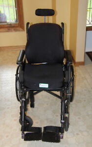 Invacare Wheelchair with foot and head rests